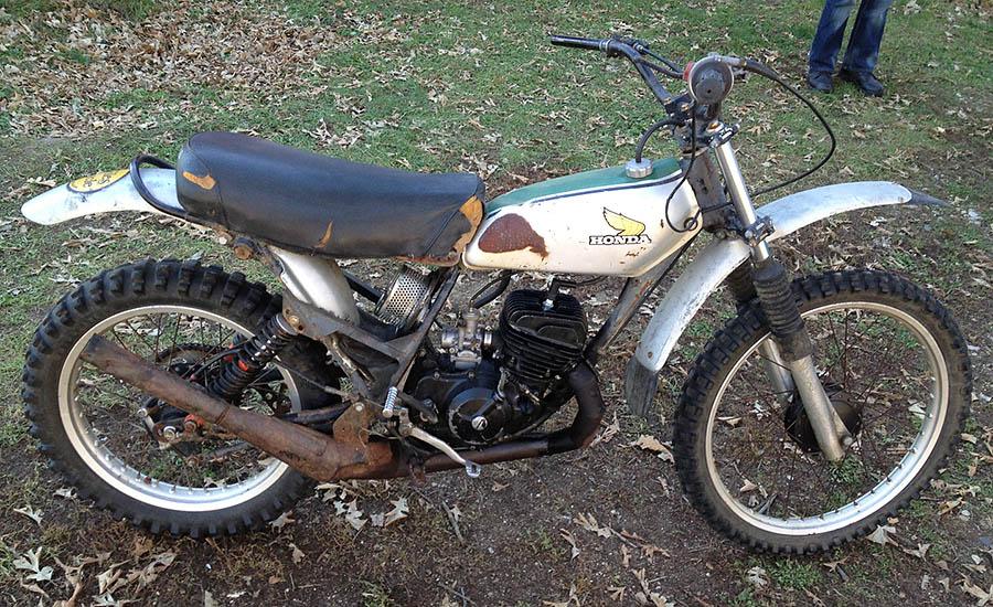 1974 Honda Cr125m Beofre