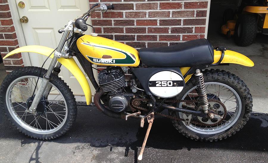 1974 Suzuki Tm250 motorsports history